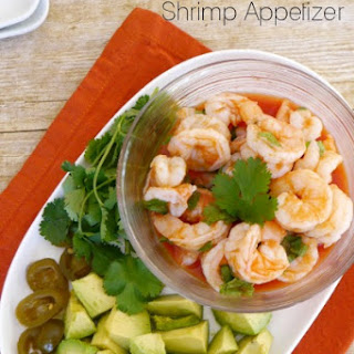 Low Carb Mexican Shrimp Appetizer.