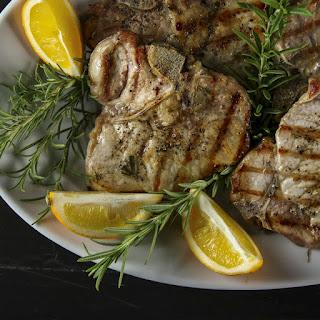 Maple-Brined Grilled Pork Chops Recipe