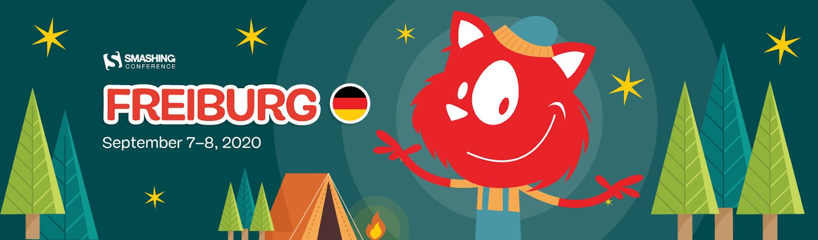 SmashingConf Freiburg 2020 banner