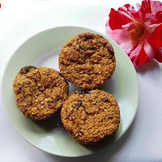 Delicious Vegan Fruit Muffins.