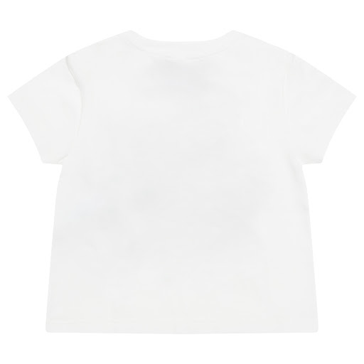 Thumbnail images of Young Versace Glitter Logo Top