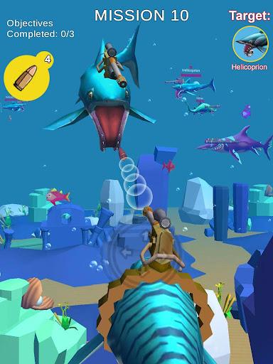 Jurassic Sea Attack 7.38 screenshots 1