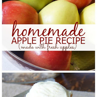 Homemade Apple Pie Recipe with Fresh Apples