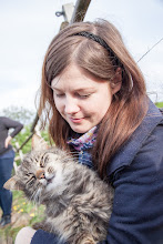 Photo: Nie wiem czyja radość była większa, ale ja żadnemu kotu nie przepuszczę :)