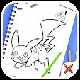 How to draw pokemon ✍