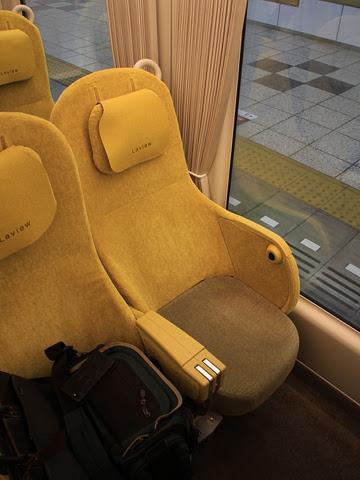 西武鉄道 001系「Laview」_08 シート_02