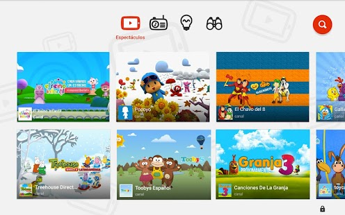YouTube Kids: miniatura de captura de pantalla