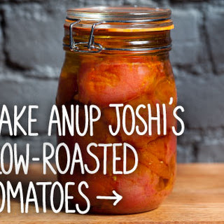Slow-Roasted Tomatoes with Garlic and Herbs