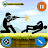 Stickman vs Stickmen Games : Shotgun Shooting Icône
