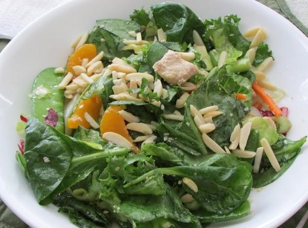 Asian Chicken Mandarin Salad W/almonds Recipe