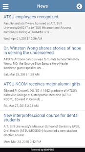 My ATSU Mobile - screenshot thumbnail