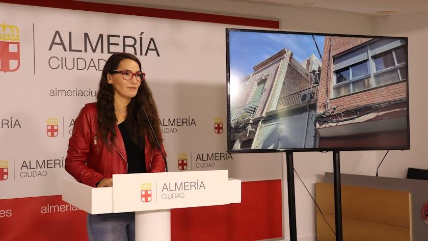 Carmen Mateos, concejal del Grupo Municipal de Podemos