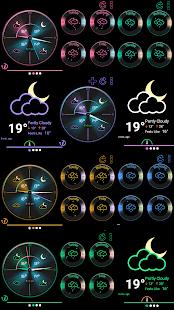 Weather Rise Clock 30+ Widgets - náhled