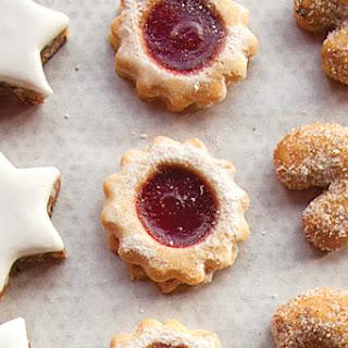 Raspberry Jam Sandwich Cookies (Spitzbuben) Recipe