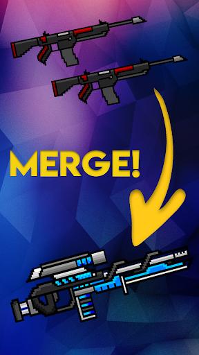 Code Triche Idle Weapon Tycoon - Pixel Royale Evolution  APK MOD (Astuce) screenshots 1