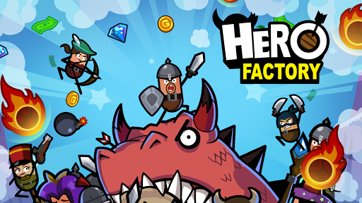 Hero Factory - Idle Factory Manager Tycoon apktreat screenshots 1