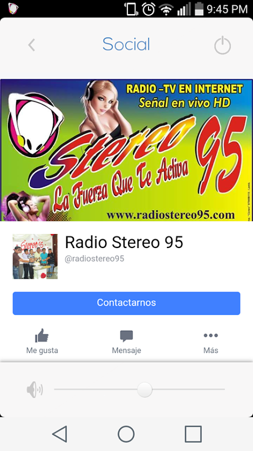Radio Stereo 95- screenshot