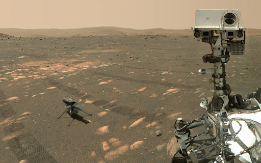 Ingenuity completes 10th flight on Mars, Perseverance starts search for life