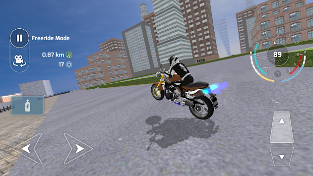 Motorbike Driving Simulator 3D APK screenshot thumbnail 1