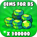 Free Gems Calc For Brawl Stars - 2019 icon