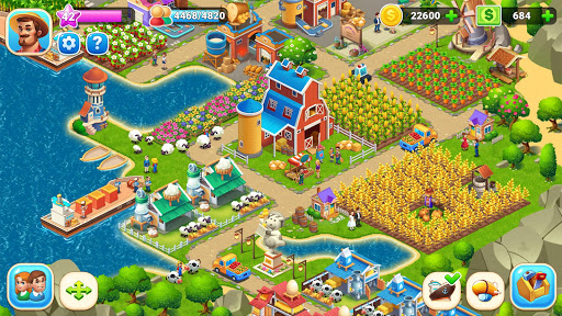 Farm City : Farming & City Building apkdebit screenshots 17