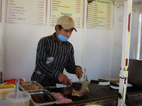 Photo: Our tortas being prepared