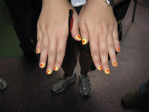 Photo: Technical Difficulties Bears win in the Best Nails category.