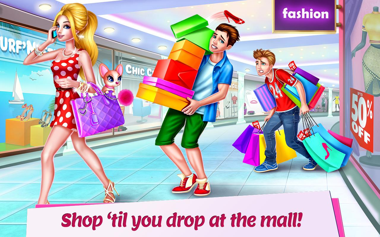 Shopping Mall Girl - Dress Up & Style Game - Android Apps ...