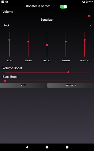 Speaker Booster with Bass Booster and Equalizer 3.1 screenshots 22