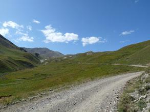 Photo: c'est ici, que l'on peut imaginer ce qu'étaient les cols alpins