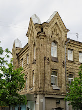 Photo: This is a common brick style in Vilnius