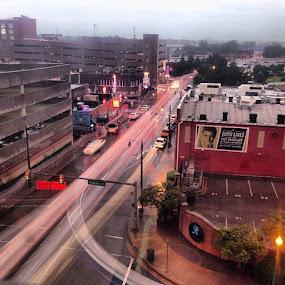 dowtown memphis by Josh Pingel - City,  Street & Park  Street Scenes