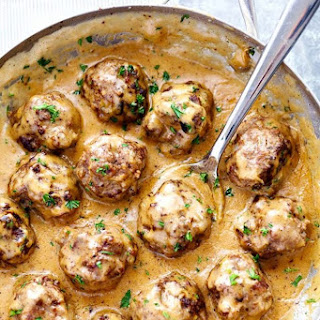 The Best Swedish Meatballs.