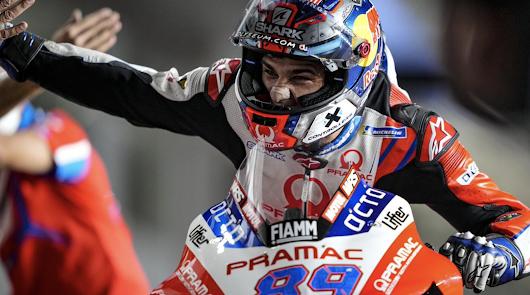 Jorge Martín sube al podio en su segunda carrera en MotoGP