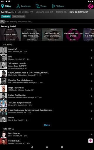 Edmtrain Concerts 2.2 Screenshots 7