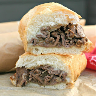 Authentic Philly Cheesesteaks Recipe