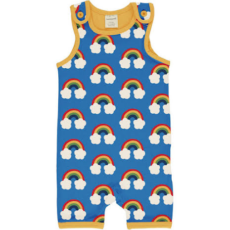 Maxomorra Playsuit Rainbow