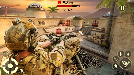 Firing Squad Shooter Arena: Fire Free Special Ops 5