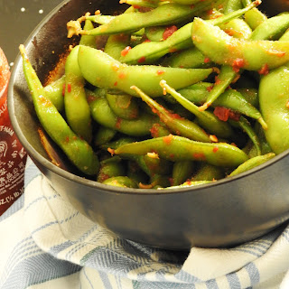 "Peiwei and Japanese restaurants Copy Cat Edamame ""Cool Beans""."