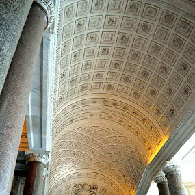 Vatican by Rita Uriel - Buildings & Architecture Other Interior ( ceiling, rome, art, painting, religious, landmark, travel )
