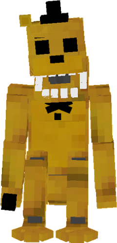 Golden Freddy Fnaf1 Nova Skin