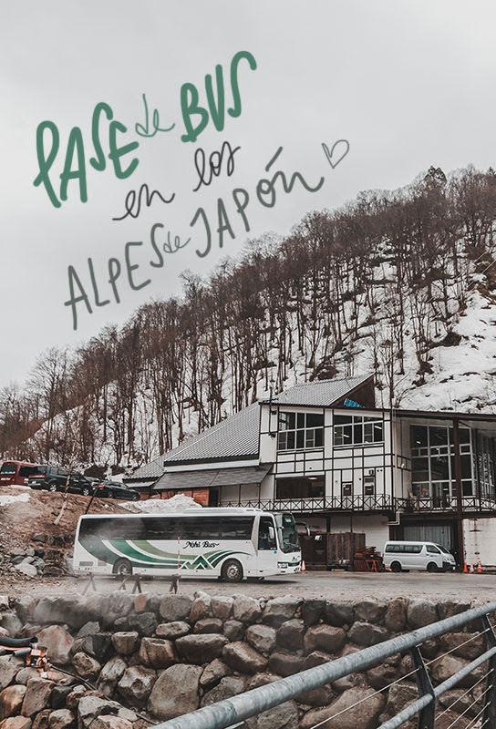 pase bus alpes japonesas