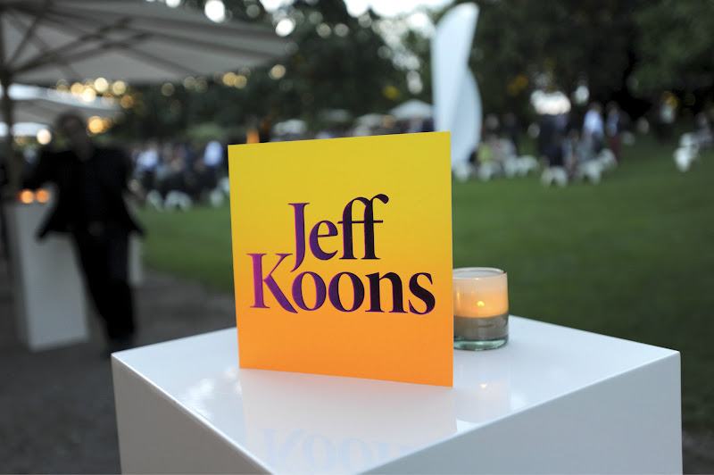 Photo: HUGO BOSS Cocktail Reception in honor of Jeff Koons at Fondation Beyeler  (c) Tinnefeld