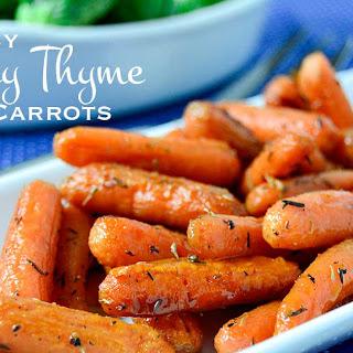 Easy Honey Roasted Carrots