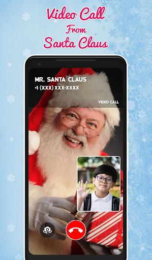 Fake Santa Claus Video Calling Simulator screenshot 3
