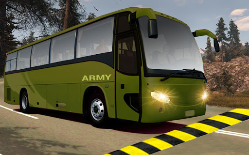 indian army bus driving: military truck mission 1.0 screenshots 13