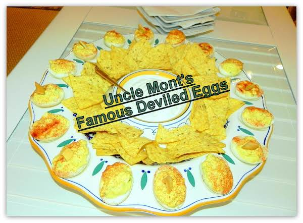 Uncle Mont's Famous Deviled Eggs Recipe