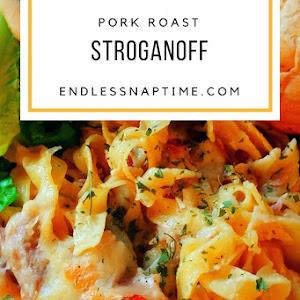 Pork Roast Stroganoff