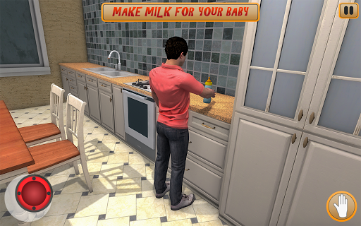 Crazy Daddy your Baby Alone Home screenshot 1
