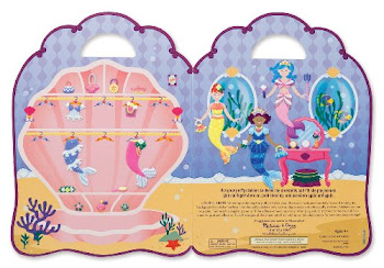 Melissa & Doug Mermaid Puffy Sticker Playset